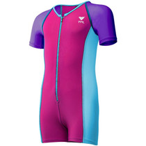 TYR Girls Solid Thermal Swim Suit - 2018