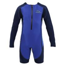 Aqua Sphere Kid's Stingray HP Core Warmer Long Sleeve Swimsuit - 2018