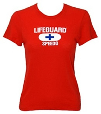 Speedo Women's Lifeguard Fitted Tee
