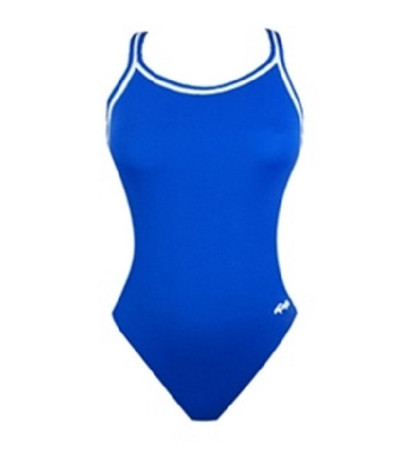Dolfin Women's Solid All-Poly DBX Back Swimsuit
