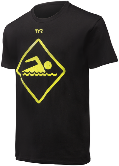 TYR Men's Swim Sign Graphic T-Shirt - 2015