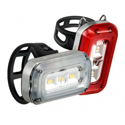 Blackburn Central 100 Front and Central 20 Rear Light Set - 2018