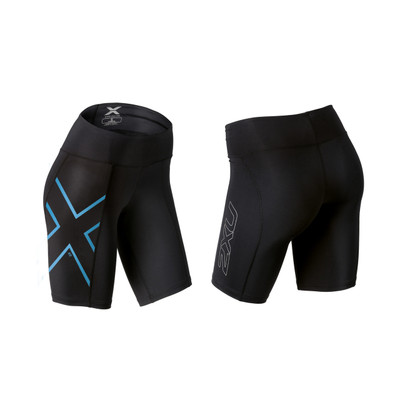 2XU Women's Ice X Mid-Rise Compression Shorts - 2016