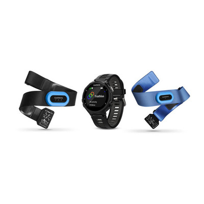 Garmin Forerunner 735XT GPS Multisport Watch Tri Bundle - 2017
