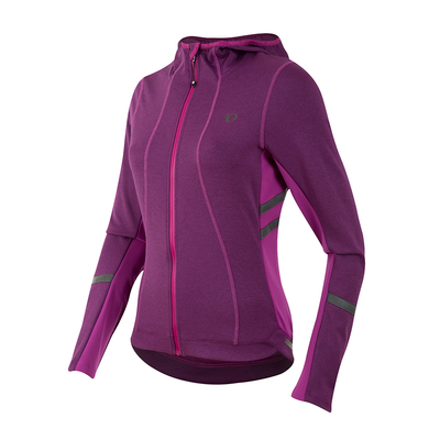 Pearl Izumi Women's Elite Escape Thermal Hoody - Wineberry
