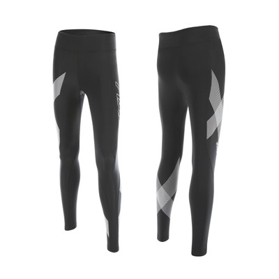 2XU Women's Hyoptik Mid-Rise Compression Tights - 2017