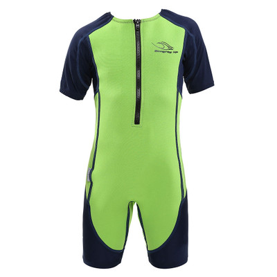 Aqua Sphere Kid's Stingray HP Short Sleeve Core Warmer - 2018