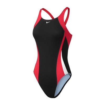 Nike Women's Poly Color Surge Fastback Tank Swimsuit - 2018