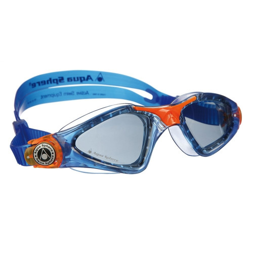 Aqua Sphere Kid's Kayenne Jr. Swim Goggle With Smoke Lens