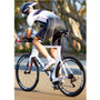 DeSoto Men's Forza Tri Suit with Sleeves - On Bike