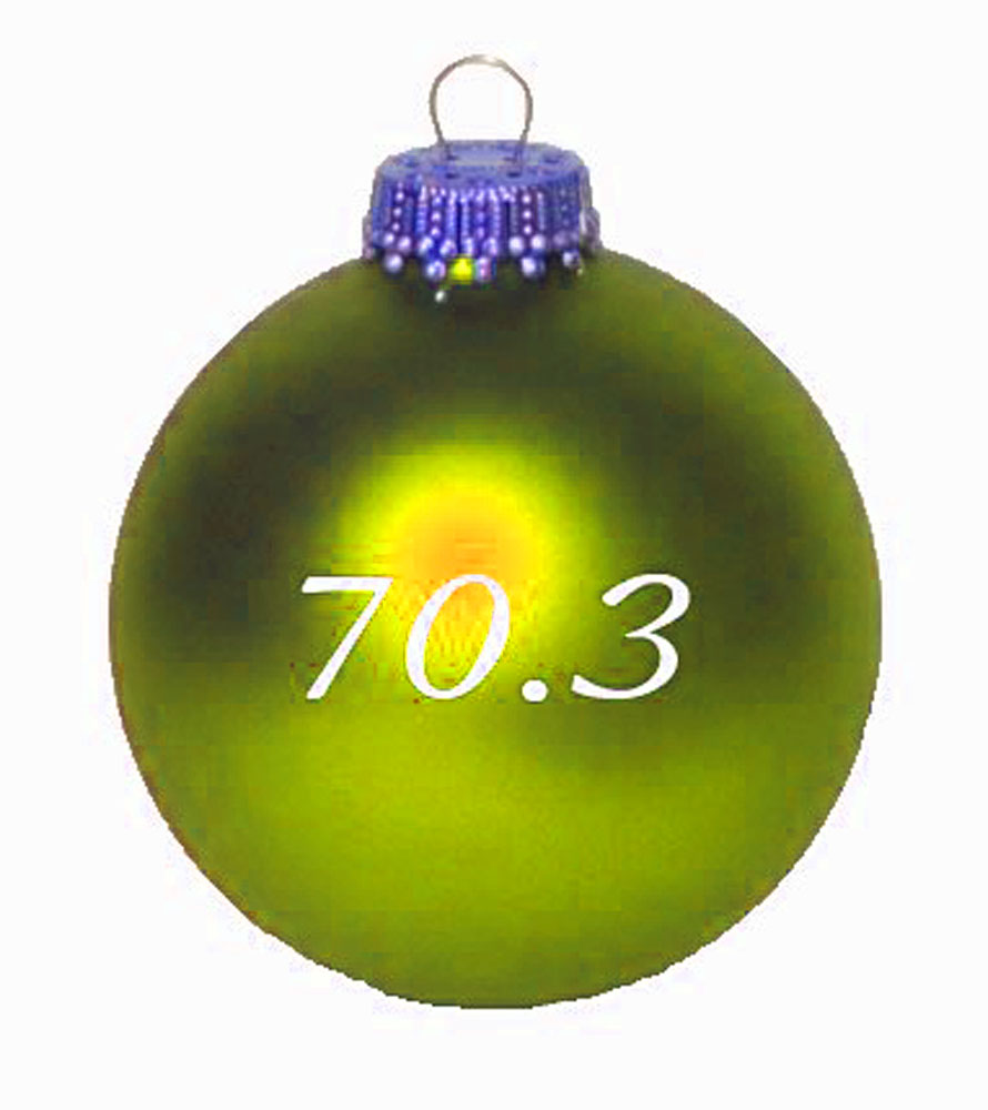 Margarita ornament - 70 3 Christmas Ornament