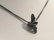Black Bee Necklace