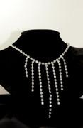 Classic Hollywood Rhinestone Marilyn Necklace