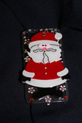 Santa Claus iPhone 4 Cell Phone Case with Pocket Mirror