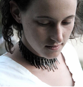 Cluster of Spikes Choker Necklace