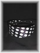 Black & White Polka Dot Headband