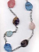 Long Semi-Precious Stone Necklace