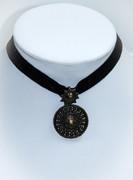 Bohemian Sun Choker Necklace