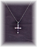 Small Cross Necklace