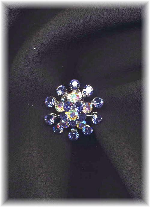 Beautiful Lavender Snowflake Ring