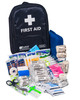 Mobile Sports First Aid Kit in Rucksack   Showing Full Contents   Physical Sports First Aid