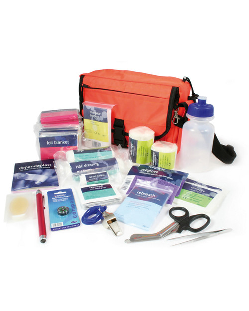 Outdoor Pursuits First Aid Kit   Bag and Contents   Physical Sports First Aid