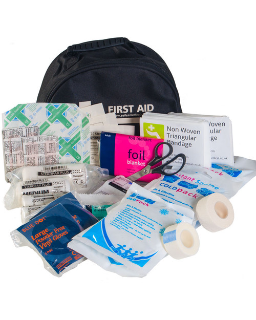 Standard Sports First Aid Kit   Kit & Bag   Physical Sports First Aid
