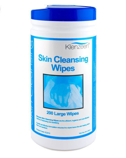 Skin Cleansing Wipes | Drum of 200 | Physical Sports First Aid
