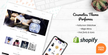Fragrance & Perfume Free Shopify Theme