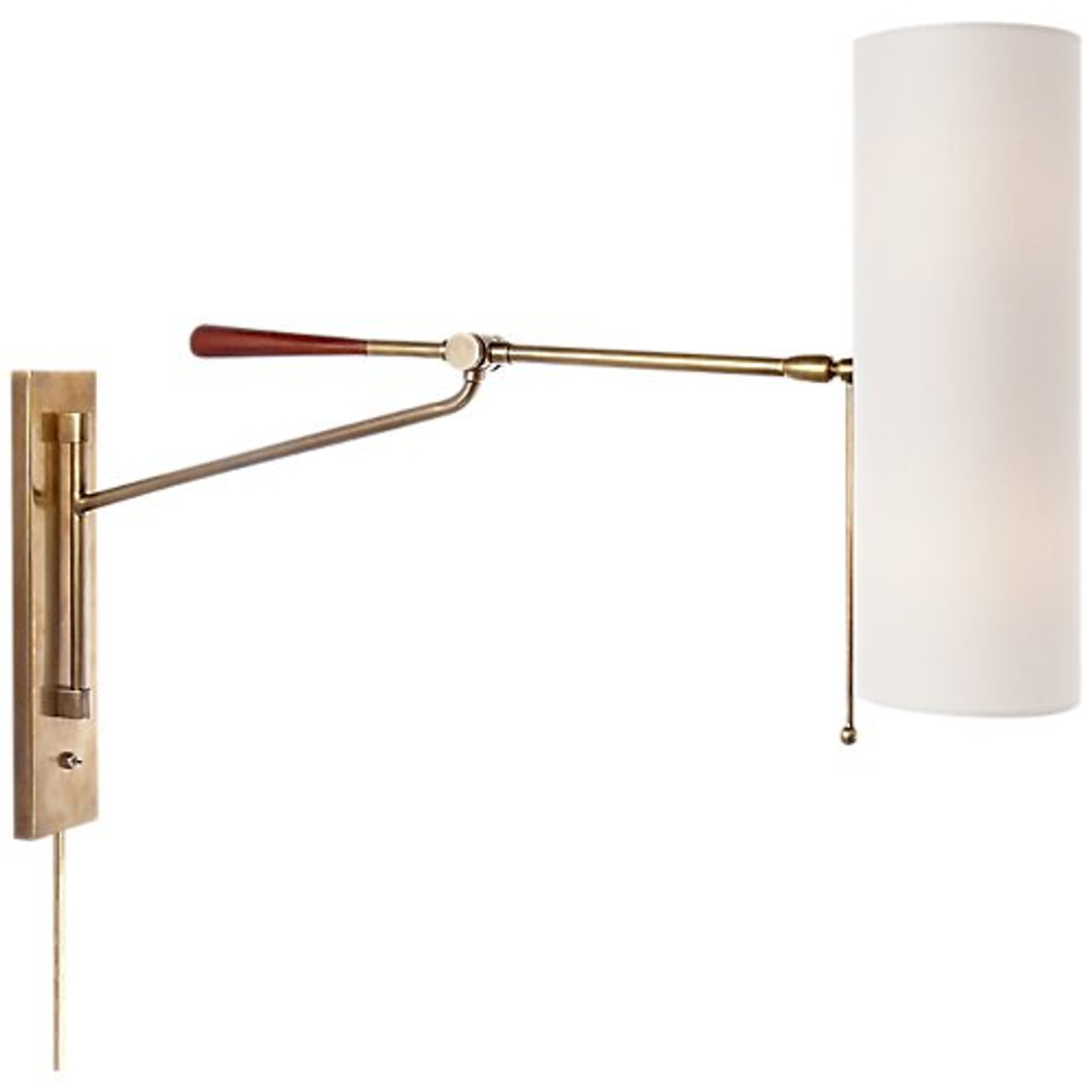 Aerin Frankfort Articulating Wall Light Gracious Home