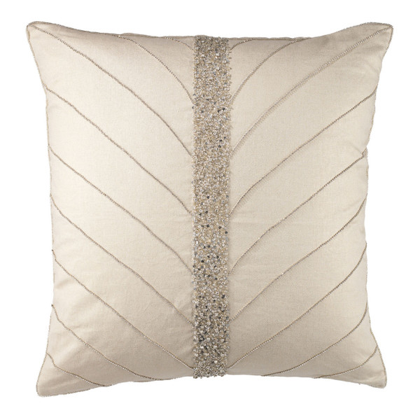 Olivia Riegel  Christy 20X20 Pillow Silver