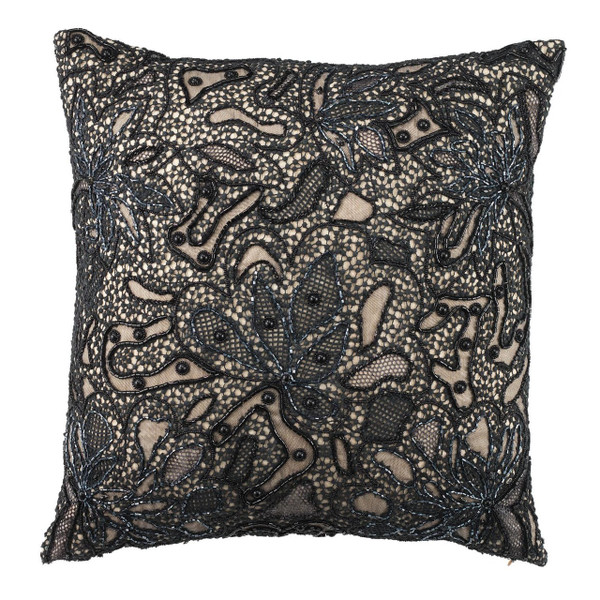 Olivia Riegel Helena 18X18 Pillow Black