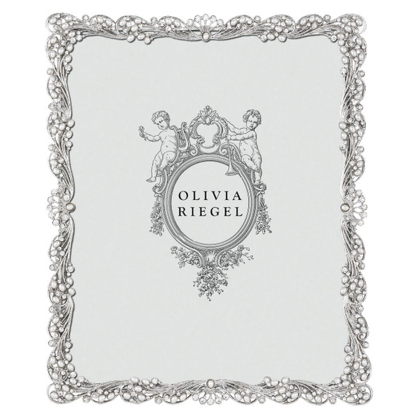 Olivia Riegel Audrey 8X10 Silver Frame