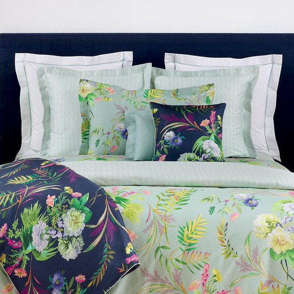 Yves Delorme Bouquets Quilted Coverlet