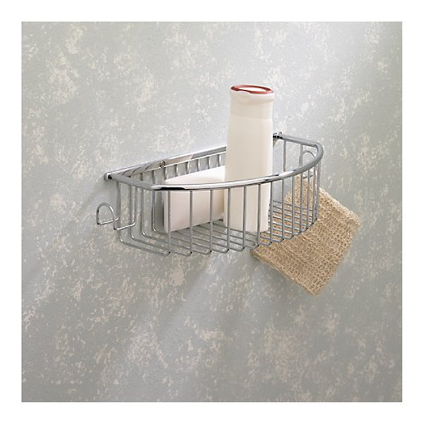 Valsan Essentials Curved Basket With Hook
