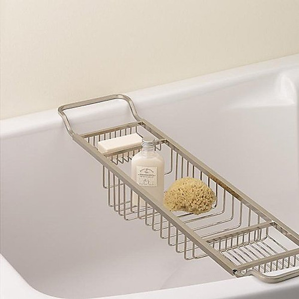Valsan Essentials Adjustable Bath Tub Rack
