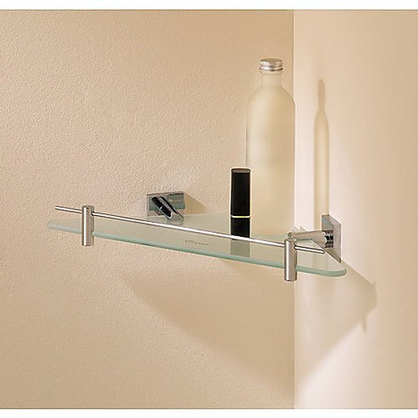 Valsan Braga Corner Glass Shelf