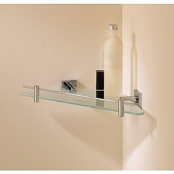 Good Valsan Braga Corner Glass Shelf
