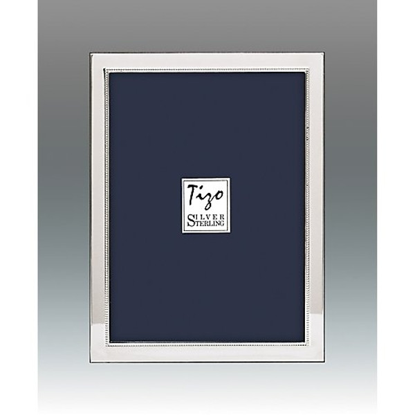 Tizo Narrow Bead Sterling Square Frames
