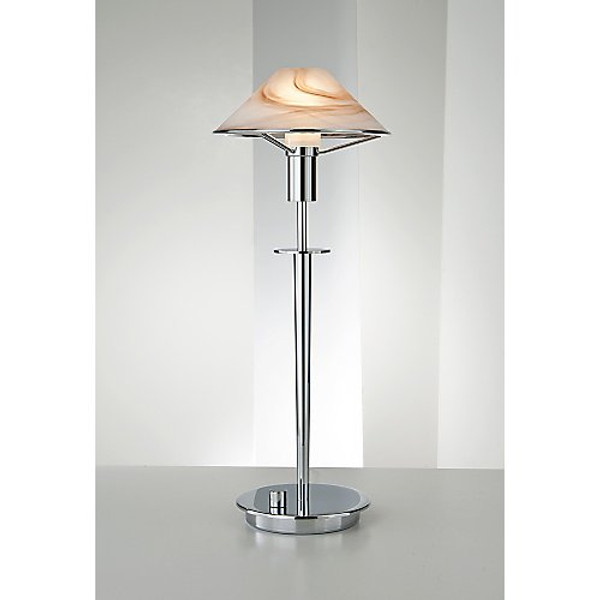 Holtkoetter Aging Eye Table Lamp in Chrome