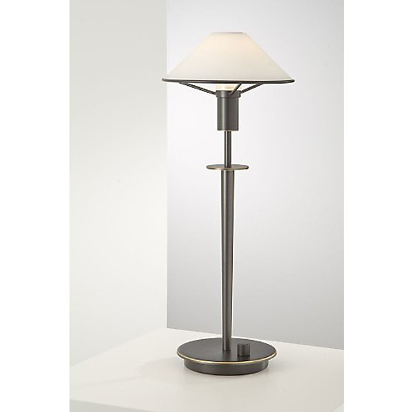 Holtkoetter Aging Eye Table Lamp in Hand Brushed Old Bronze