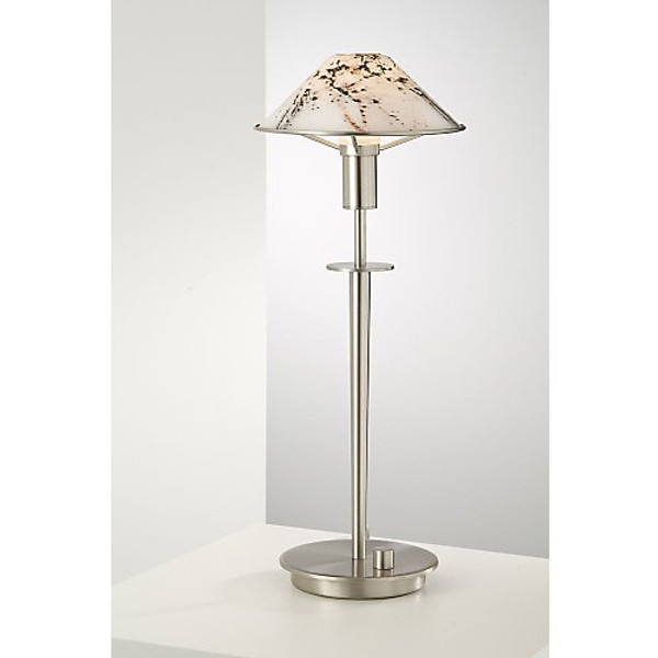 Holtkoetter Aging Eye Table Lamp in Satin Nickel