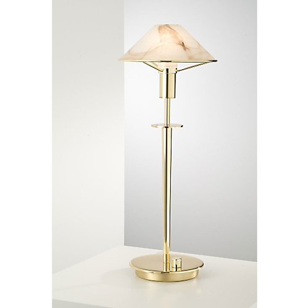 Holtkoetter Aging Eye Table Lamp in Polished Brass