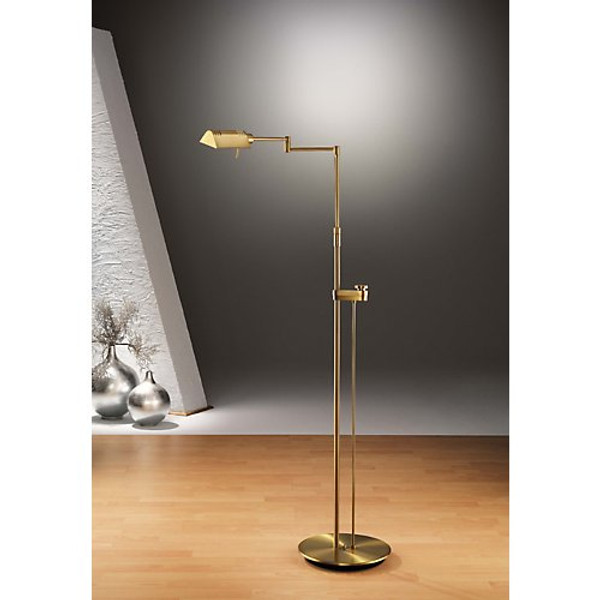 Holtkoetter Classic Reading Floor Lamp with Side-Line Dimmer