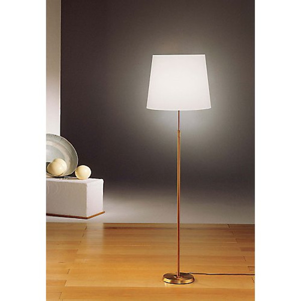 Holtkoetter Dimmable Floor Lamp in Antique Brass #6354