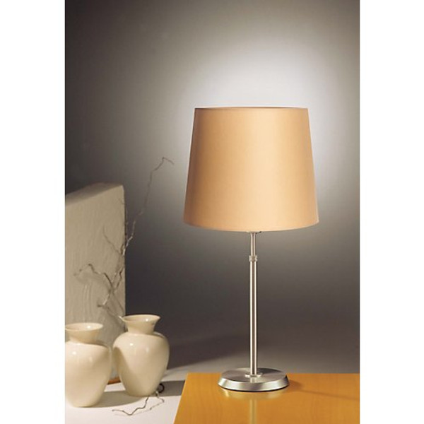 Holtkoetter Dimmable Table Lamp in Satin Nickel