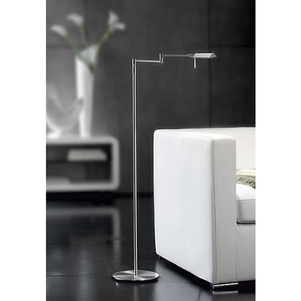 Holtkoetter LED Chairside Reading Floor Lamp with Dimmer #9680LEDP1