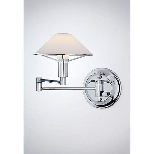 Holtkoetter Aging Eye Sconce in Chrome