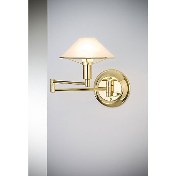 Holtkoetter Aging Eye Sconce in Polished Brass