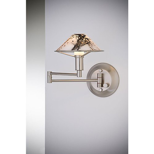 Holtkoetter Aging Eye Sconce in Satin Nickel #9426